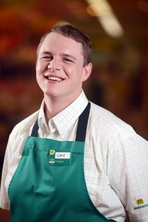 Carl Whitman of Enfield Morrisons