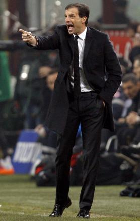 Massimiliano Allegri will succeed Tim Sherwood this summer according to reports in Italy. Picture: Action Images