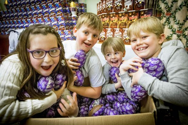 Enfield Independent: More than 4,500 eggs were donated for the hunt