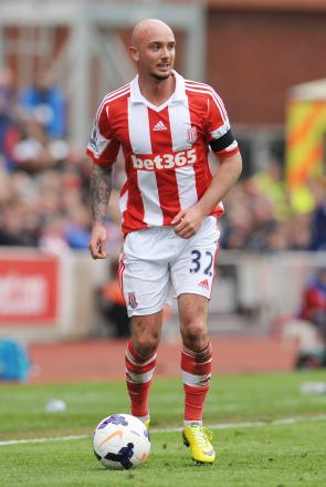 Stephen Ireland has thrived since being reunited with former boss Mark Hughes at Stoke. Picture: Action Images