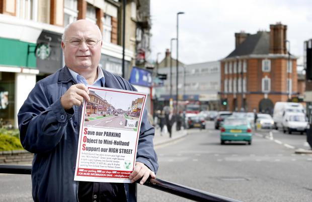 The plans to convert the borough into a 'mini-Holland' have attracted criticism from those who say the new road layouts would remove parking bays and kill off the high street