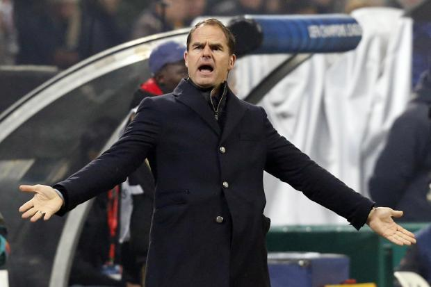Enfield Independent: Current Ajax boss Frank de Boer has been linked with Spurs. Picture: Action Images