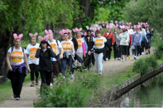 The Night Hike raised more than £19,000 in 2013