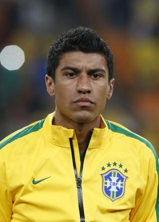 Paulinho has been included in Brazil's squad for next month's World Cup. Picture: Action Images