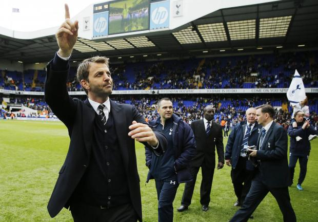 Tim Sherwood says he is waiting to see what the future holds for the club and himself