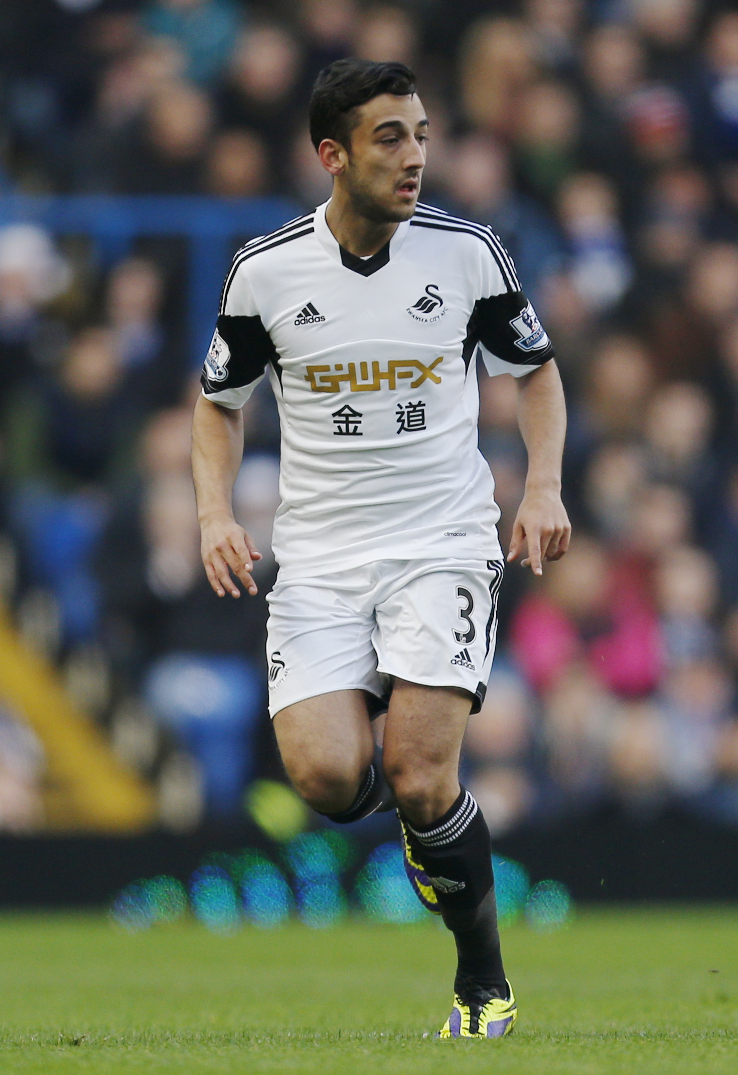 Neil Taylor has found himself behind Ben Davies at Swansea this term. Picture: Action Images