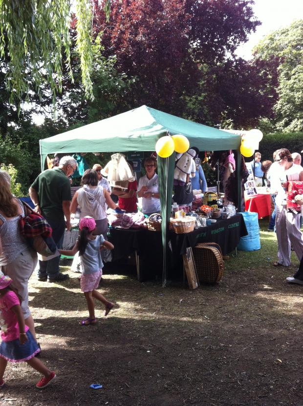 Enfield Independent: A stall from last years Palmers Green Festival
