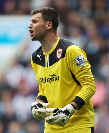 David Marshall excelled for relegated Cardiff this season. Picture: Action Images