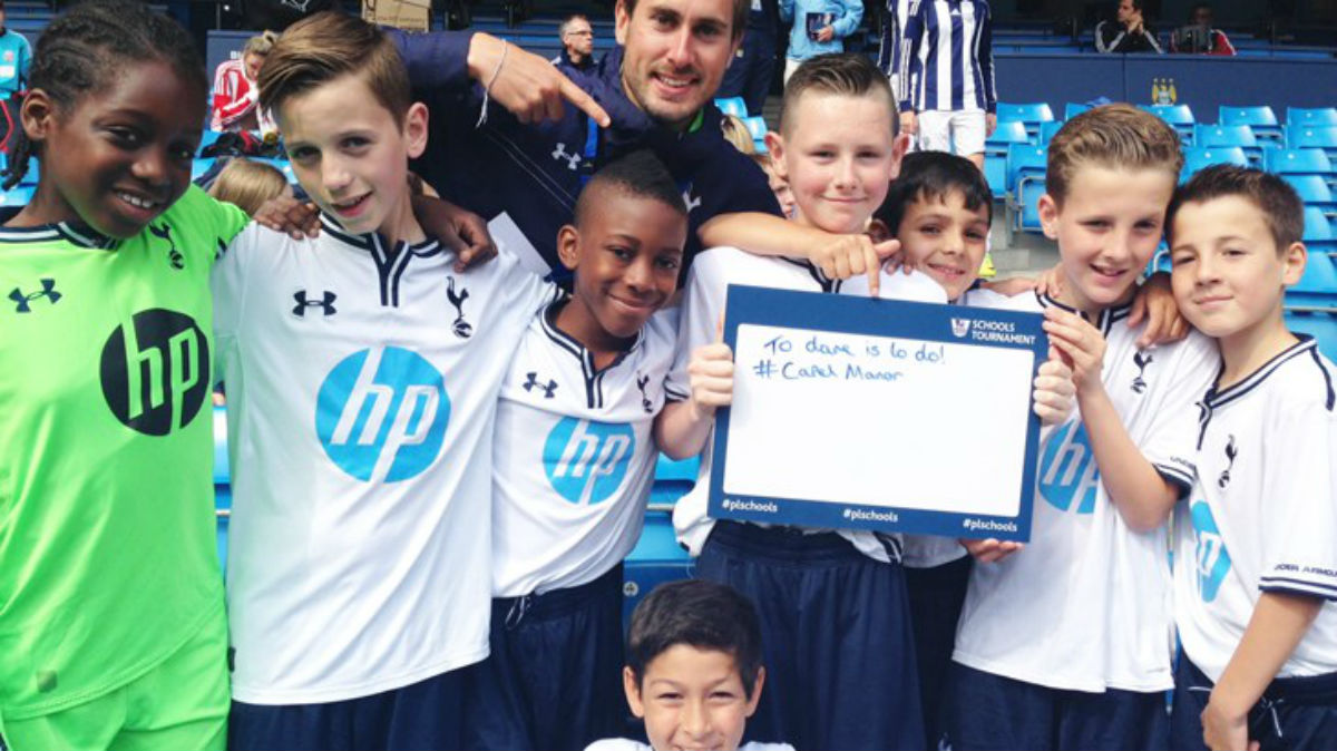 Primary school represents Spurs at national tournament