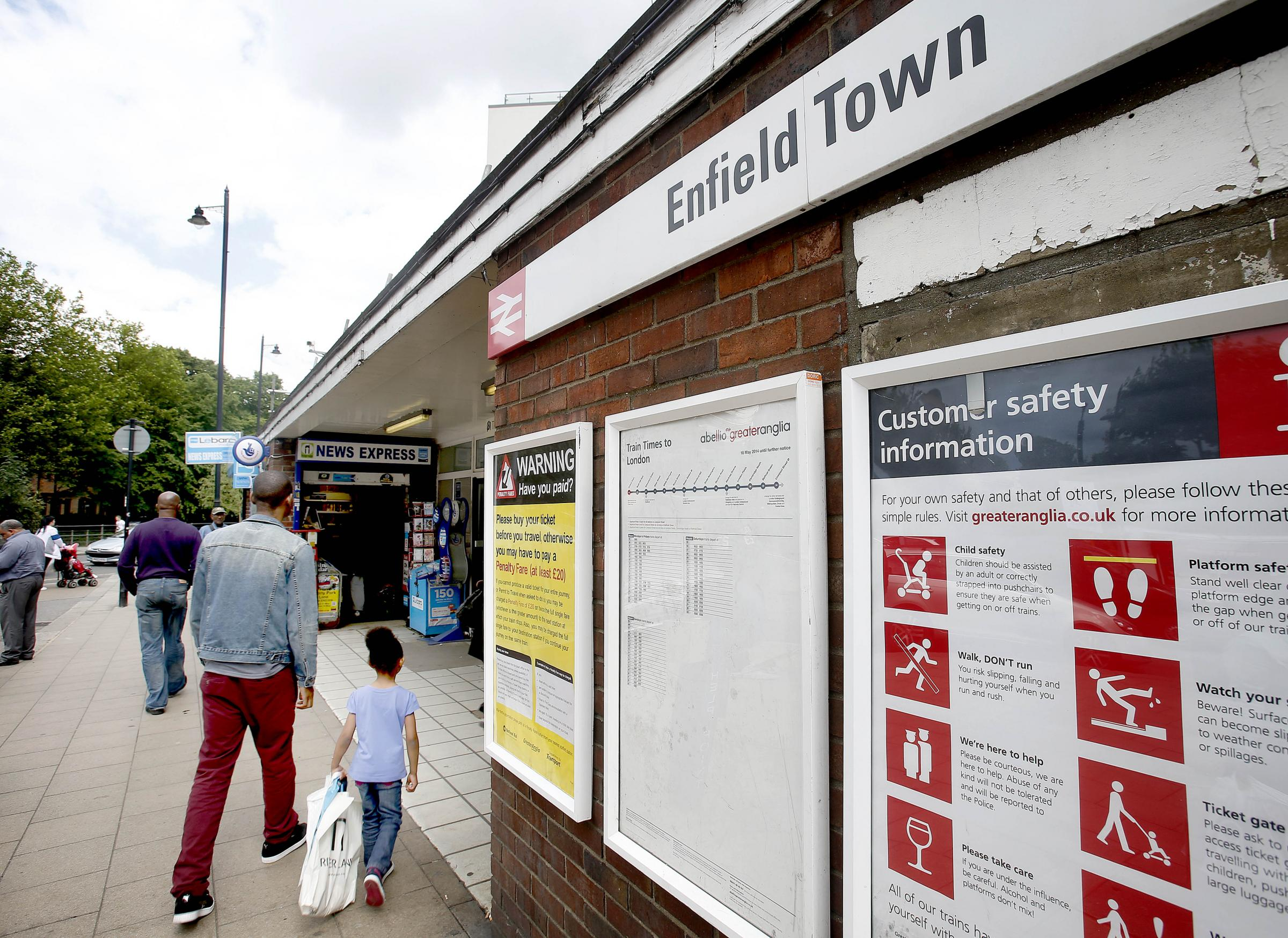 The line running from Enfield Town will be run by a new operator as of May 2015