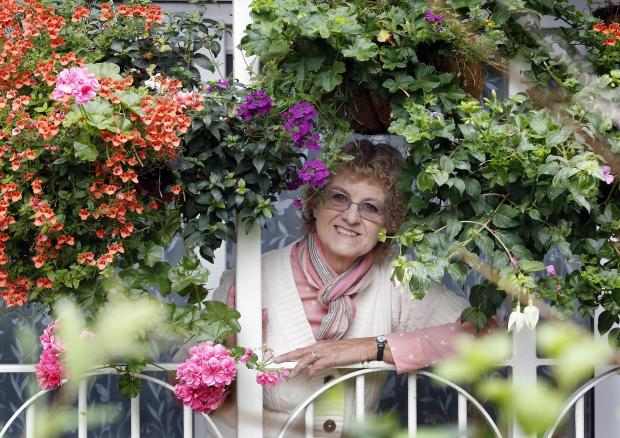 Irene Frost was among last year's Enfield in Bloom winners