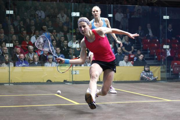 Alison Waters has been included in England's squash team for the Commonwealth Games. Picture: Action Images