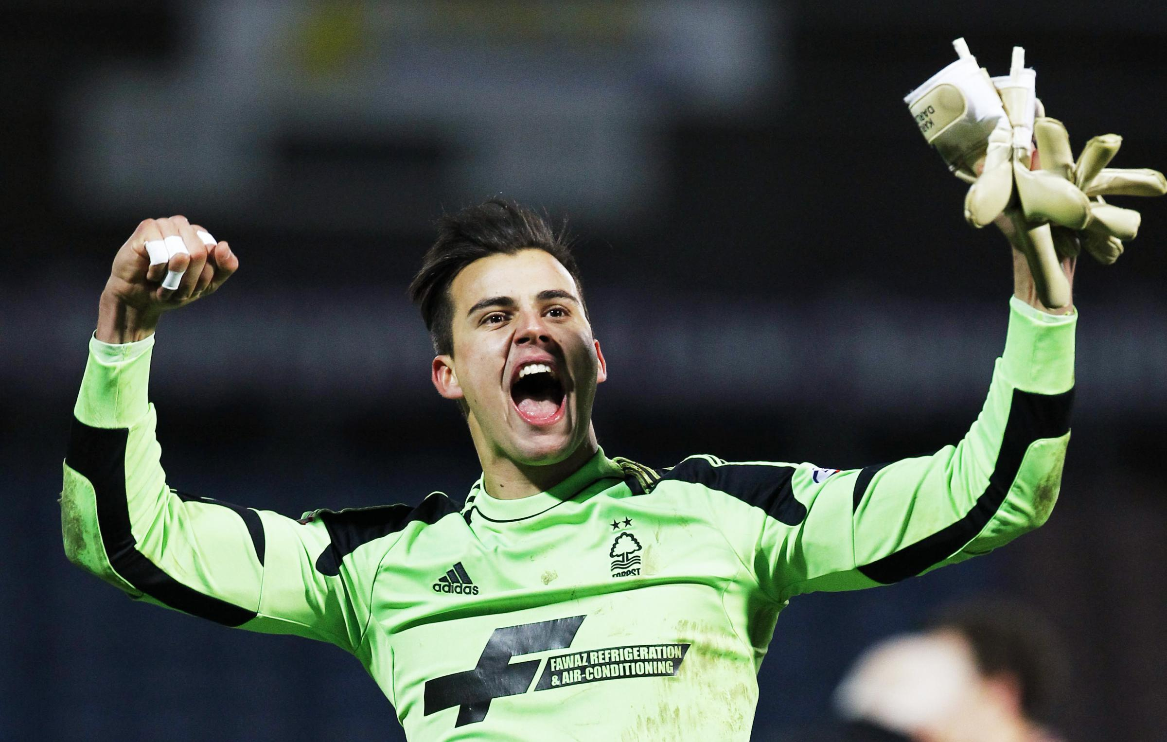 Karl Darlow in action for Nottingham Forest last term. Picture: Action Images
