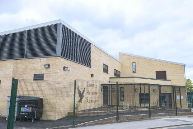 Enfield Heights Academy, in Pitfield Way