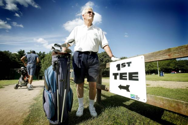 Chairman of Leaside golf club, David Roche, fears the course could be closed