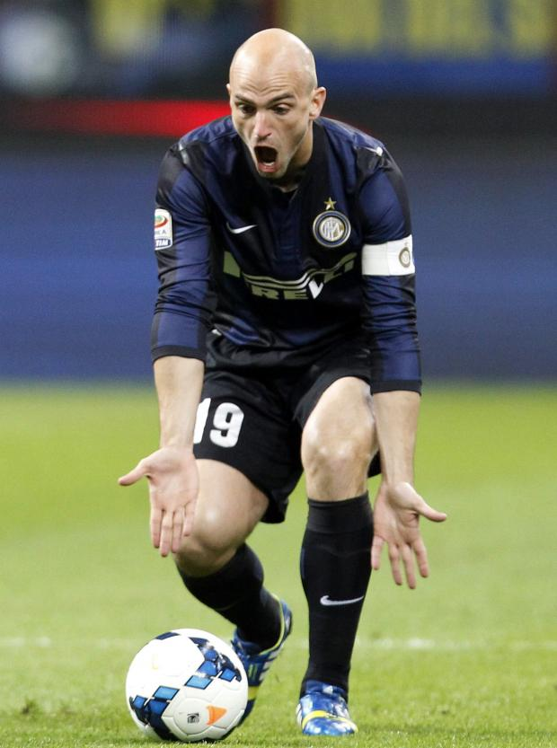 Enfield Independent: Esteban Cambiasso leaves Internazionale after a decade at the San Siro. Picture: Action Images