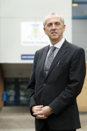 Headteacher Derrick Brown of Ashmole Academy