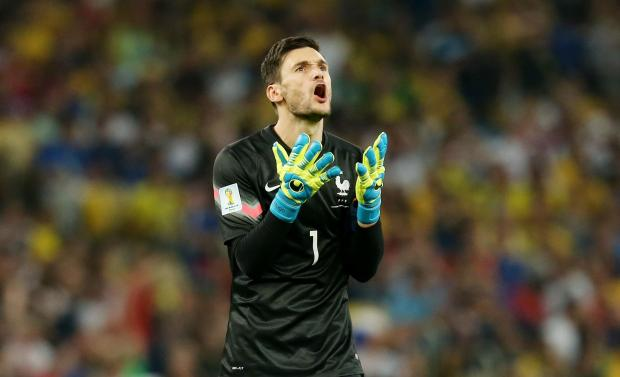 Enfield Independent: Hugo Lloris shows his frustration as another French chances goes astray. Picture: Action Images