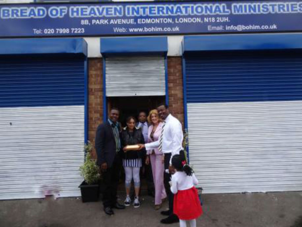 Bread of Heaven church last year helped homeless people have a free meal