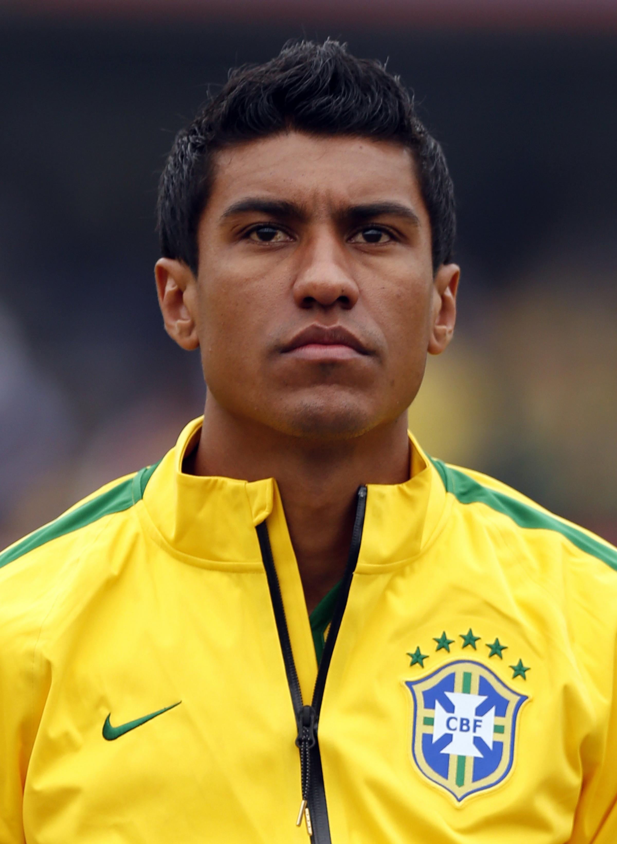 Paulinho was an unused substitute as Brazil progressed on penalties. Picture: Action Images