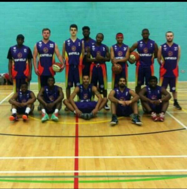The Enfield Steamrollers, who train and play at the College of Haringey, Enfield and North East London, achieved promotion this year