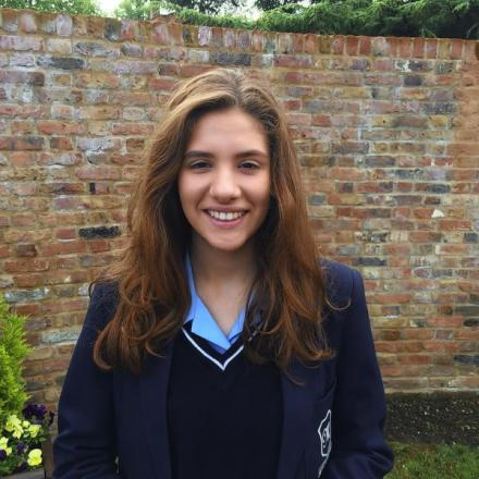 Emma Woolridge won an award after taking part in the Young Reporters Scheme