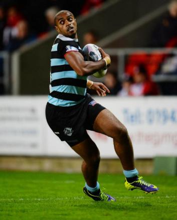 Iliess Macani, who is on a dual registration from London Broncos. Picture: Action Images