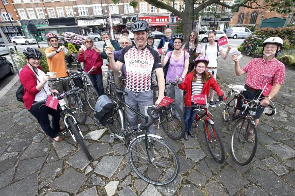 Cyclists: 'We'll spend money here too'