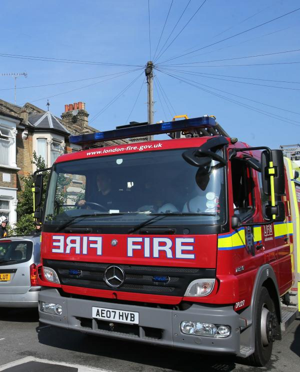 Garden centre damaged by fire