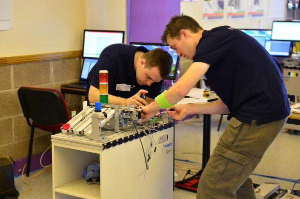 Enfield Independent: Calum Knott and John Peerless will be part of the UK side at the EuroSkills 2014 competition in Lille