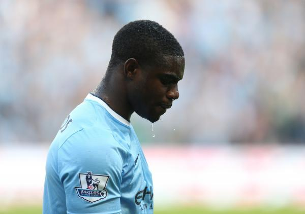 Micah Richards cuts a dejected fig