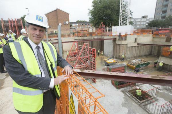 'Ambitious' new cabinet member Alan Sitkin believes the new heat network will 'revolutionise' the way heat is provided in Enfield