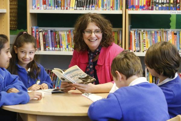 Headteacher Helen Pearson is delighted by the latest news that De Bohun is coming out of special measures