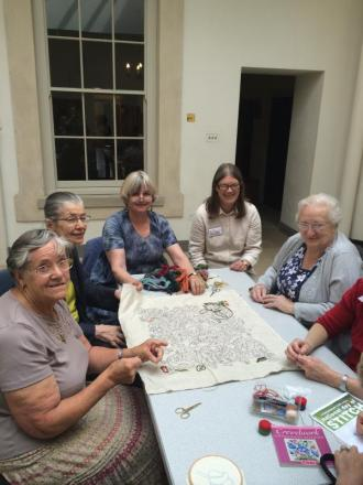 Embroiderers' guild showcase their skills for Big Stitch event