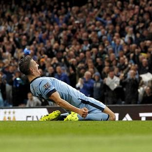 Stevan Jovetic was on target twice in Manchester City's comforta