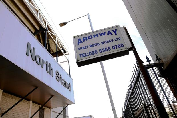 Archway Sheet Metal Works is the last business standing in the way of Spurs' proposed new stadium