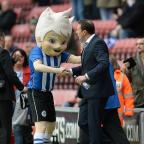 Enfield Independent: Wigan boss Malky Mackay, right, thanked the club's fans and staff for the welcome