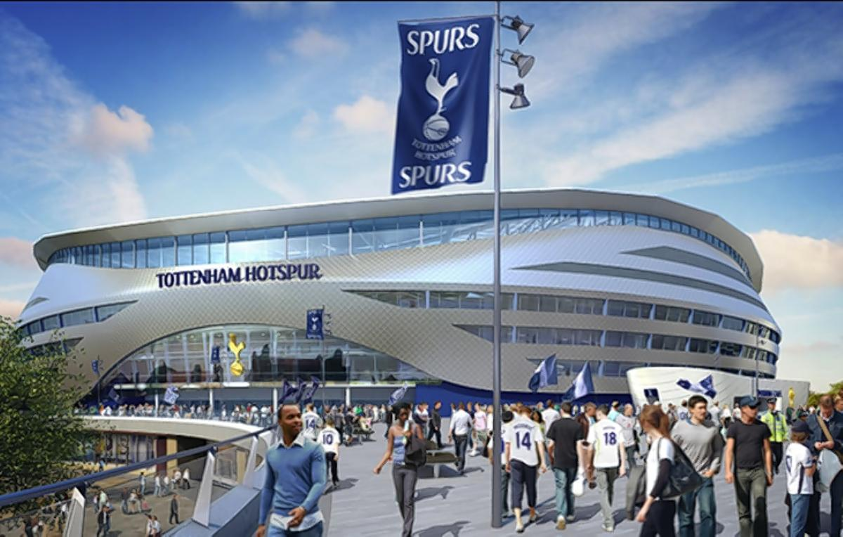 Archway could be on Spurs' proposed new stadium's centre circle