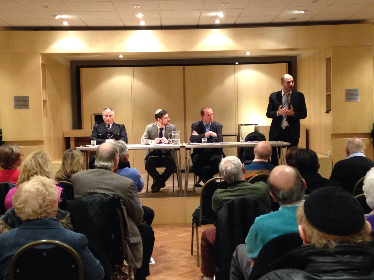 The meeting held in Oakwood on Tuesday, February 17, discussed increase in anti-Semitic behaviour