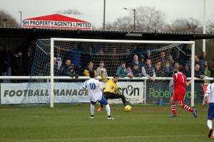 Towners' play-off hopes suffer Leiston blow