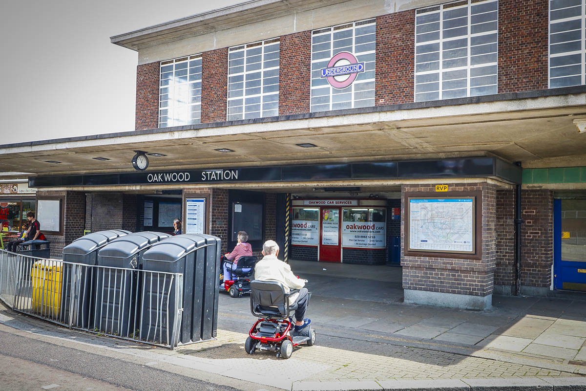 Oakwood station has undergone seven closures of its step free access in the past three weeks