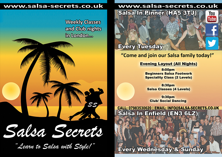 Weekly Salsa Classes with Salsa Secrets