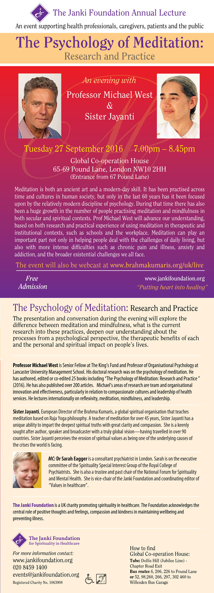 The Psychology of Meditation: Research & Practice