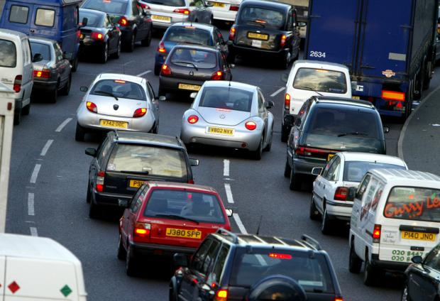 There are several delay blackspots on the roads for commuters this evening