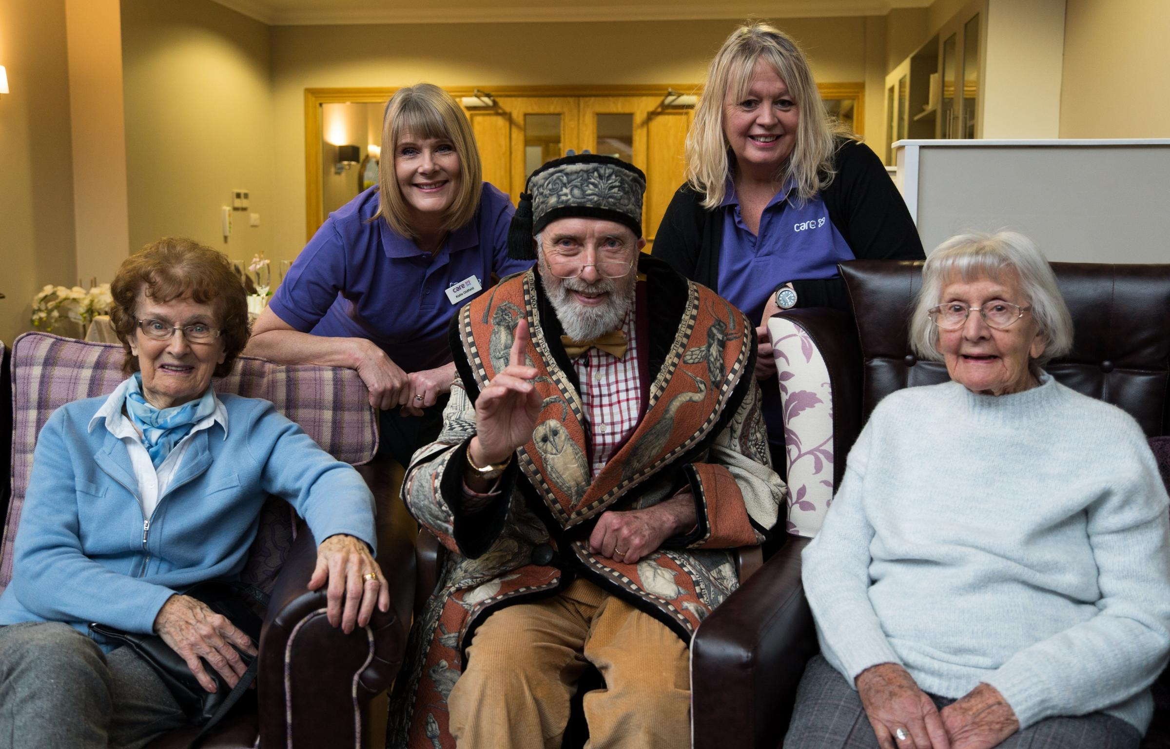 Care Home Hosts Famous Storyteller And Screens Special Film To Mark World Read Aloud Day
