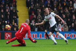 Harry Kane scored twice in Spurs' 4-1 win at Vicarage Road on New Year's Day. Picture: Action Images