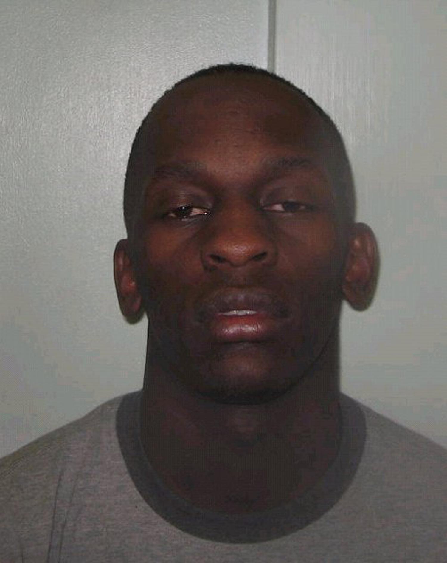 Mug Shot Of Ali After Being Arrested In UK