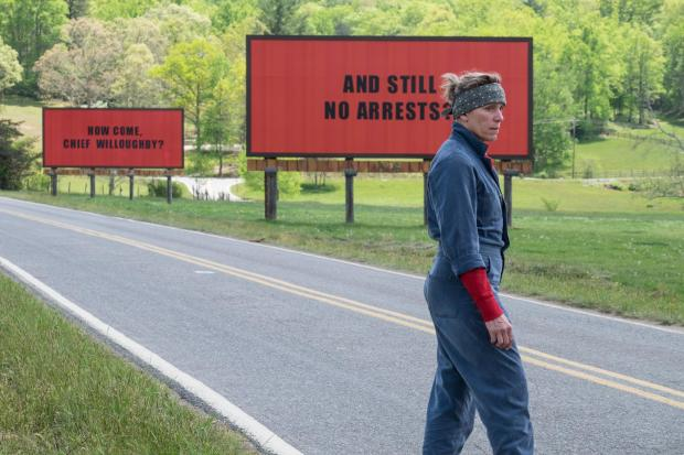 Enfield Independent: Frances McDormand in Three Billboards Outside Ebbing, Missouri