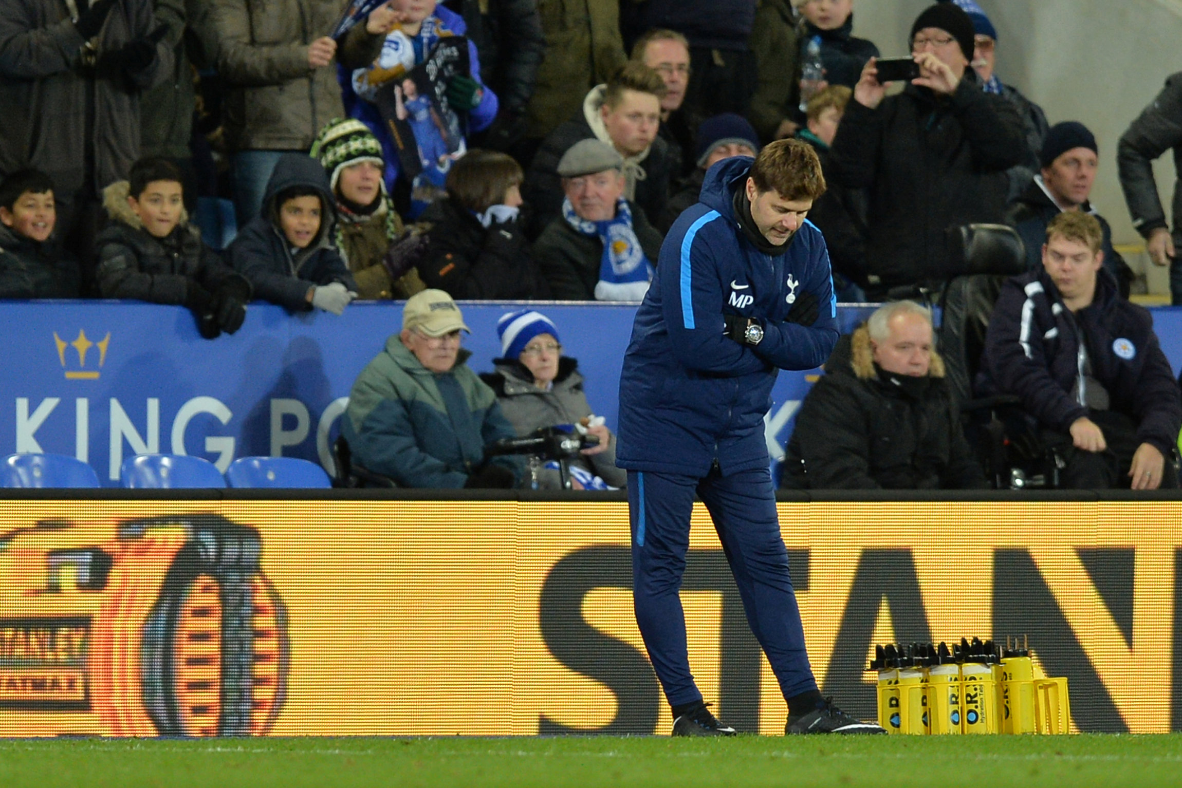 Mauricio Pochettino admitted Spurs were poor following last night's defeat. Picture: Action Images