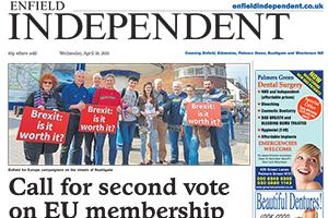 Read the e-edition of this week's Enfield Independent and access our online archive